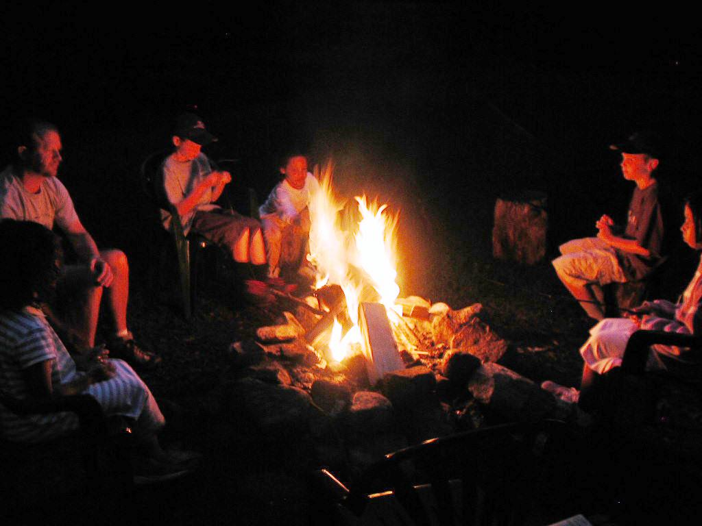 guest photo: Edginton campfire
